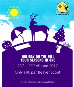 Holidays on the Hill Poster Beavers