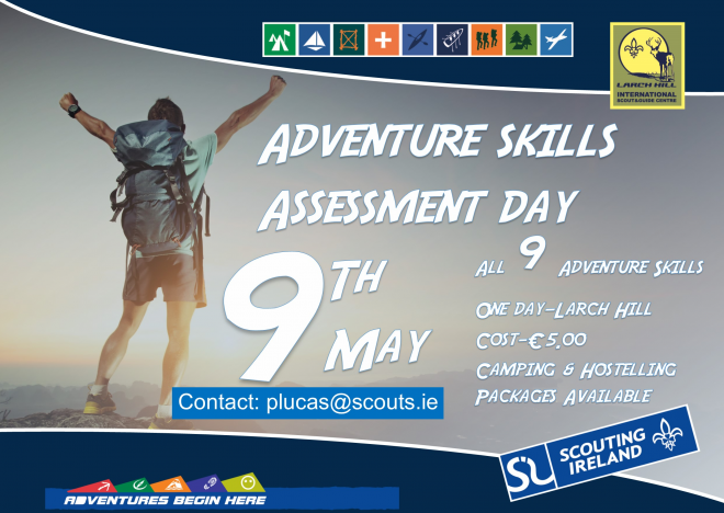 Larch Hill Host Adventure Skill Assessment 9th May 2015