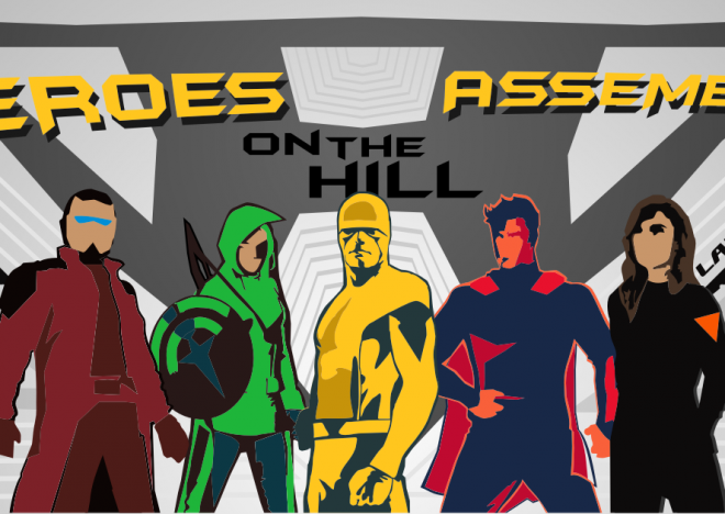 Heroes Assemble on the Hill – Staff Application forms
