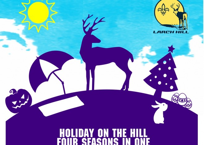 LARCH HILL CUB CAMP 2017 'HOLIDAYS ON THE HILL' – OPEN FOR BOOKINGS